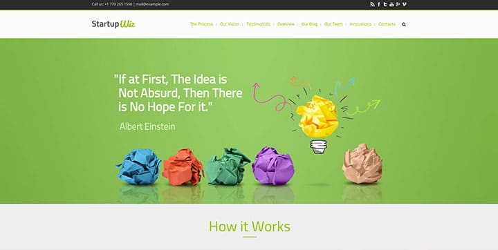 Wiz The Smart Responsive Wordpress Theme